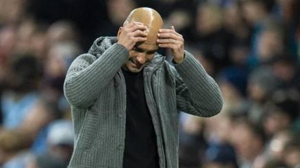 Pep Guardiola, tecnico del Manchester City. Epa