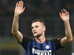 Milan Skriniar, difensore dell'Inter. Lapresse