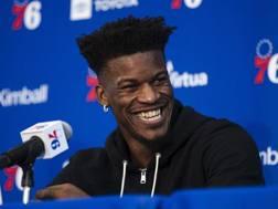 Jimmy Butler, 29 anni, nuova stella dei Sixers. Ap