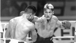 Vincenzo Nardiello sul ring
