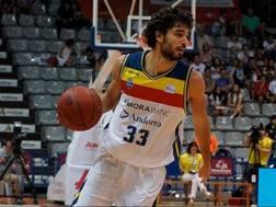 Michele Vitali in maglia Andorra
