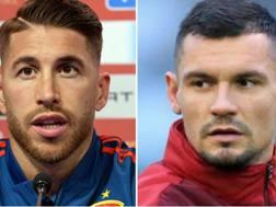 Ramos e Lovren. Getty