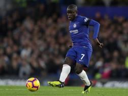 N'Golo Kanté, centrocampista francese del Chelsea. Getty