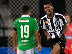 Matheus Fernandes, centrocampista del Botafogo classe '98. Afp