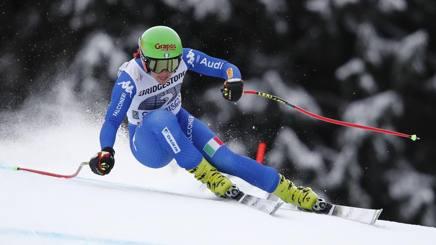 Johanna Schnarf  a Garmisch lo scorso febbraio