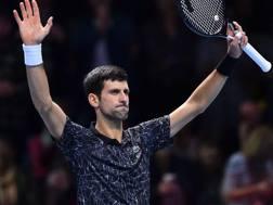 Novak Djokovic, 31 anni, numero 1 del mondo. Ap