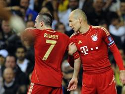 Robben-Ribery. AFP