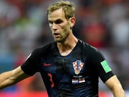 Ivan Strinic, 31 anni, terzino sinistro del Milan e della Croazia. Getty
