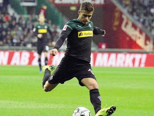 Thorgan Hazard, 25 anni, nazionale belga e attaccante del Borussia  Mönchengladbach