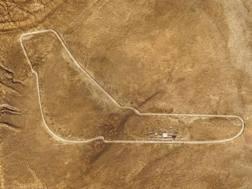Il tracciato nel Sahara identico al circuito di Monza ricreato da BMW