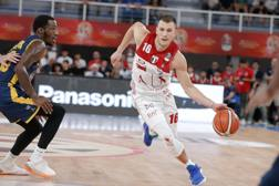 Nemanja Nedovic, 27 anni, guardia di 191 cm, nazionale serbo, è alla prima stagione a Milano CIAM