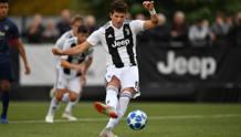 Elia Petrelli, 17 anni, attaccante della Juventus GETTY IMAGES