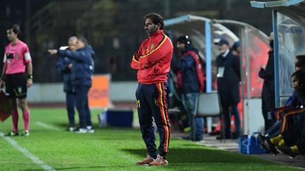 Fabio Caserta, allenatore della Juve Stabia. LaPresse