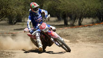 Thomas Oldrati in azione