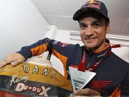 Dani Pedrosa con la medaglia di 'Legend'