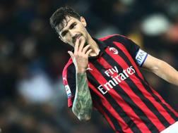 Alessio Romagnoli, difensore del Milan. Getty