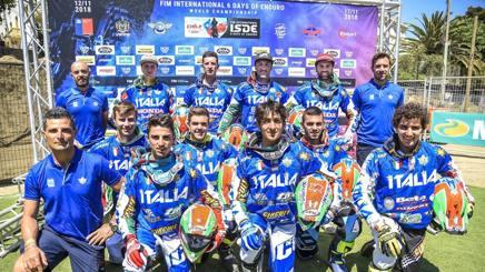 Gli azzurri vincitori in Cile - AGRATI