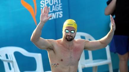 Marco Orsi, campione europeo dei 100 mx. Liverani