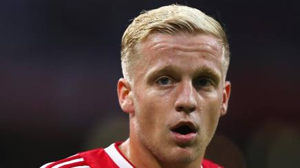 Donny Van de Beek. Getty Images