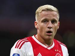 Donny Van de Beek. Getty Images