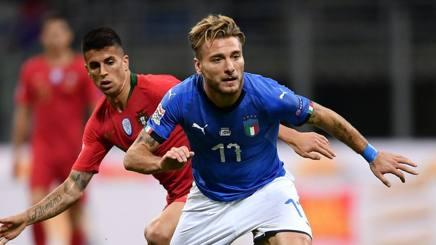 Ciro Immobile, attaccante della Nazionale. Getty