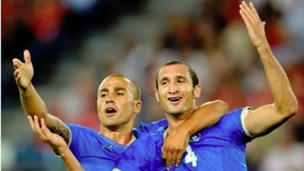 Fabio Cannavaro e Giorgio Chiellini. Instagram