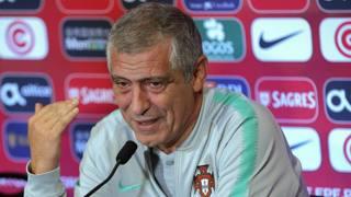 Fernando Santos, 64 anni, commissario tecnico del Portogallo. Epa