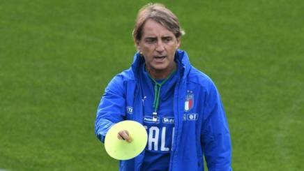 Roberto Mancini, c.t. dell'Italia. Ansa