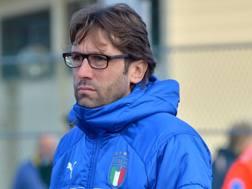 Federico Guidi, 41 anni, tecnico dell'Under 19 azzurra getty