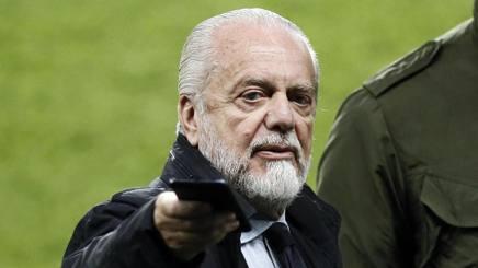 Aurelio De Laurentiis, 69 anni, presidente del Napoli. Epa