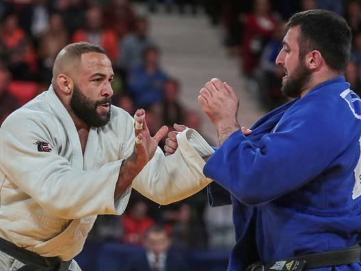 Roy Meyer e Vincenzo D'Arco. International Judo Federation