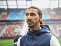 Zlatan Ibrahimovic, 37 anni. Getty Images