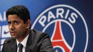 Nasser Al-Khelaïfi, 45 anni, presidente del club parigino Epa
