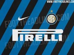Il design della maglia ipotizzata per la stagione 2019/2020 dell'Inter.  Footy Headlines