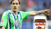 Max Kruse, attaccante del Werder Brema. Getty