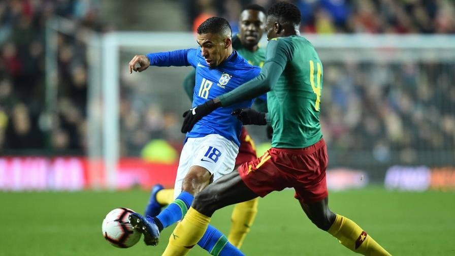 Brasile-Camerun 1-0: 90' per Alex Sandro e Allan