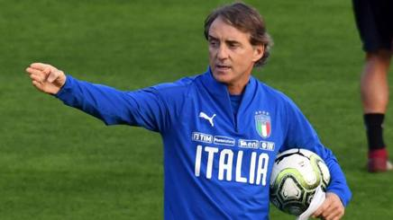 Il c.t. Roberto Mancini. Ansa
