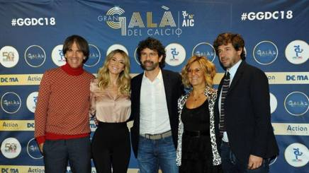 Da sinistra: Davide Oldani, 51 anni, Diletta Leotta, 27, Damiano Tommasi, 44, e Manuela Ronchi