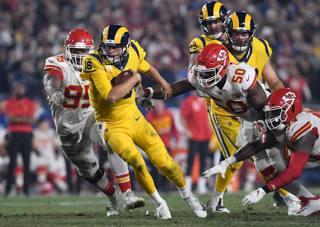 Jared Goff, 24 anni, quarterback dei Rams AFP