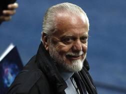 Aurelio De Laurentiis, 69 anni. Epa