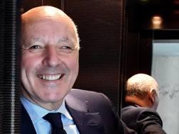 Giuseppe Marotta, futuro dirigente dell'Inter. Ansa