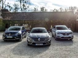 Le Renault Espace, Koleos e Talisman