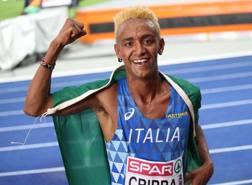 Yeman Crippa , 22 anni bronzo nei 10.000 a Berlino