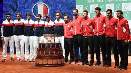 Francia e Croazia schierate a Lille. Afp