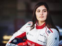 Tatiana Calderon, la collaudatrice della Sauber in F1.