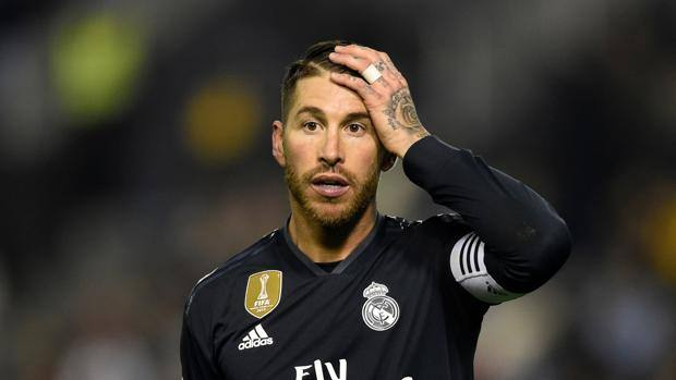 Sergio Ramos, 32 anni. Afp