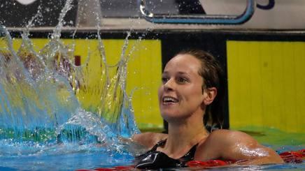 Federica Pellegrini, 30 anni, campionessa iriata uscente dei 200 al a Windsor 2016. Afp