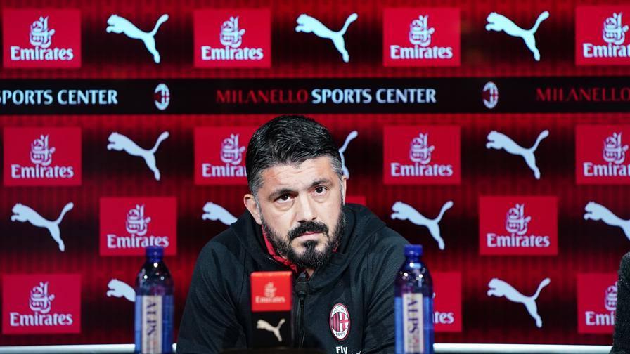 """Gattuso: """"Troppi infortuni? Non siamo scappati di casa"""""""