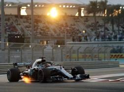 Lewis Hamilton. Ap