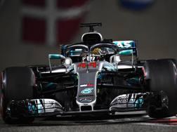 Lewis Hamilton, vittoria numero 11 nel 2018. Getty